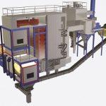 steam thermal biomass boiler